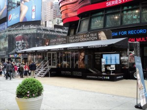 John Frieda Salon Tour Canopy Times Square